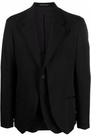 Yohji Yamamoto Layered tailored blazer
