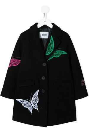 Msgm Girls Coats - TEEN single breasted coat