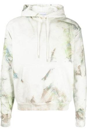 John Elliott Men Hoodies - Tie-dye cotton hoodie