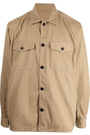 SACAI Men Business - Button-down safari shirt