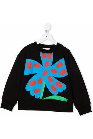 Stella McCartney Kids Floral-print cotton sweatshirt
