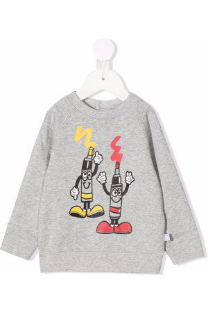 Stella McCartney Cartoon-print organic cotton sweatshirt