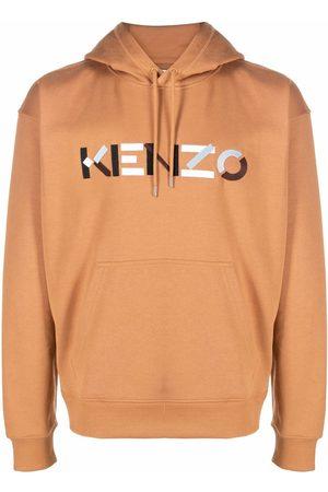 Kenzo Logo-print organic cotton hoodie