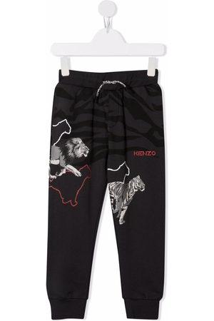 Kenzo Animal-print track pants