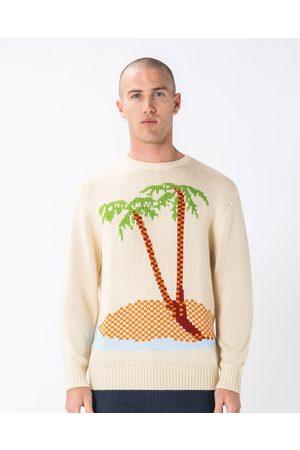 Barneys Island Knit - Crew Necks (Natural) Island Knit