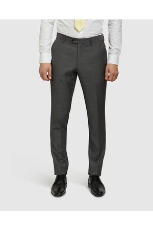Oxford Auden Wool Suit Trousers - Suits & Blazers Auden Wool Suit Trousers