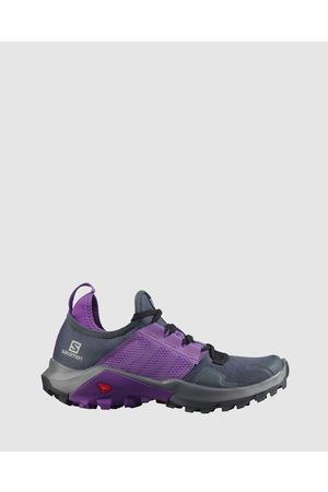 Salomon Women Shoes - Madcross Women's - Outdoor Shoes (India Ink, Royal Lilac & Quiet Shade) Madcross - Women's