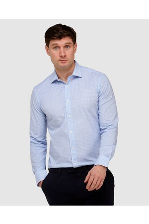 Brooksfield Abstract Print Reg Fit Business Shirt - Shirts & Polos Abstract Print Reg Fit Business Shirt