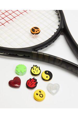 Wilson Box O' Fun Emoji Dampeners 100 Pack - Sports Equipment (Multi) Box O' Fun Emoji Dampeners- 100 Pack