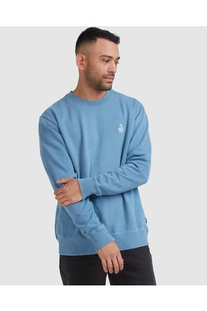 RVCA Peace March Crew - Jumpers & Cardigans (AGED INDIGO) Peace March Crew