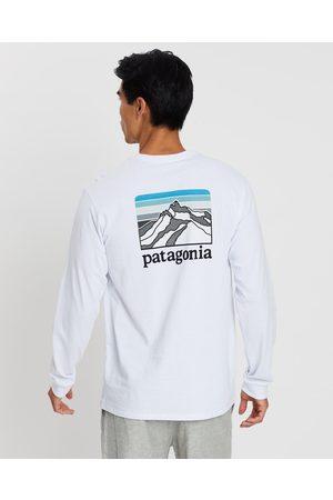 Patagonia Men's Long Sleeve Line Logo Ridge Responsibili Tee - Long Sleeve T-Shirts Men's Long Sleeve Line Logo Ridge Responsibili-Tee