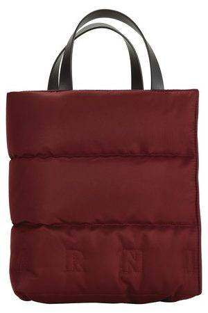 Marni Women Tote Bags - MUSEO SOFT tote bag in quilted nylon
