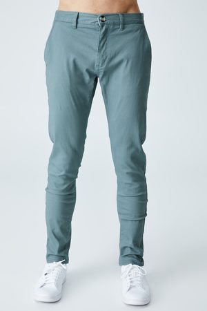 Cotton On Chinos - Skinny Stretch Chino - Washed