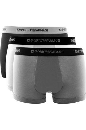 Armani Men Boxer Shorts - Emporio Underwear 3 Pack Boxer Trunks