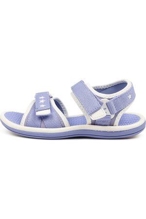 CLARKS 202790 Fern Tot Ck Lavender Sandals Girls Shoes Casual Sandals Flat Sandals