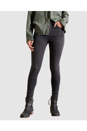 Superdry Women Boyfriend - High Rise Skinny Jeans - Jeans (Wolcott Stone) High Rise Skinny Jeans