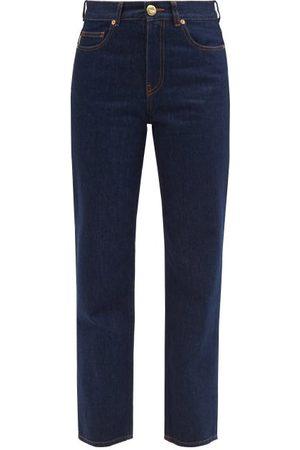 Blazé Milano Women Straight - Narido Paso Straight-leg Jeans - Womens - Indigo