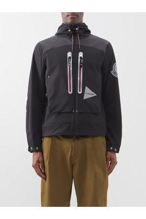 Moncler Men Outdoor Jackets - 1952 - Itabashi Logo-print Zipped Hooded Jacket - Mens