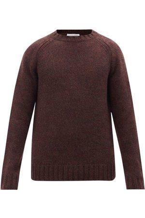 GABRIELA HEARST Men Sweaters - Francesco Cashmere Sweater - Mens - Burgundy