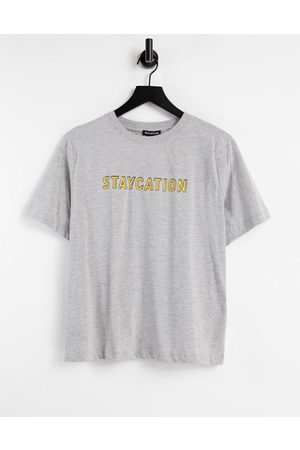 Whistles Staycation' logo T-shirt in -White