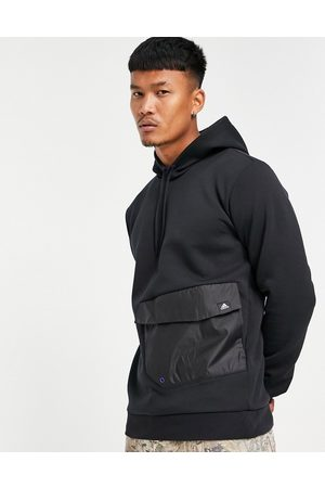 adidas Adidas utility hoodie with front pocket in