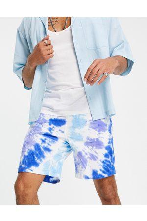 Gramicci Tie dye g-shorts in blue