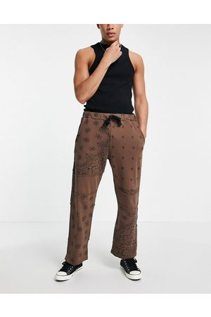 Jaded London Co-ord cut-and-sew paisley trackies in