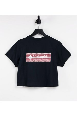 Columbia CSC River back print t-shirt in - Exclusive to ASOS