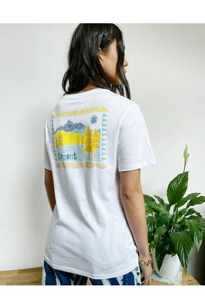 Element Walk About back print T-shirt in