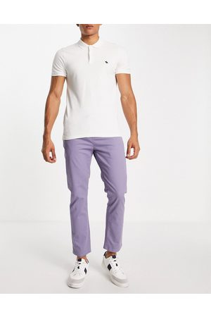 ASOS Slim chinos with elasticated waist in