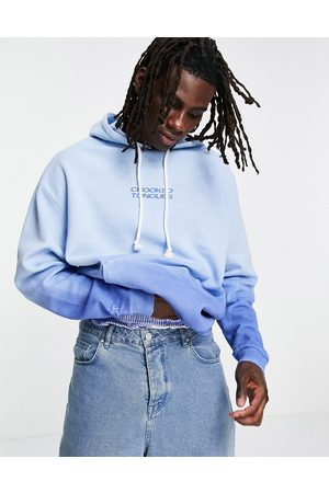 Crooked Tongues Logo Hoodie with gradient in