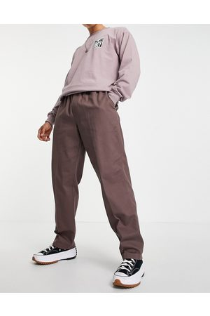 Obey Men Chinos - Easy twill tapered pants in purple