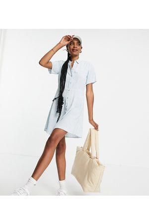 Pieces Women Casual Dresses - Exclusive mini shirt dress in -Multi