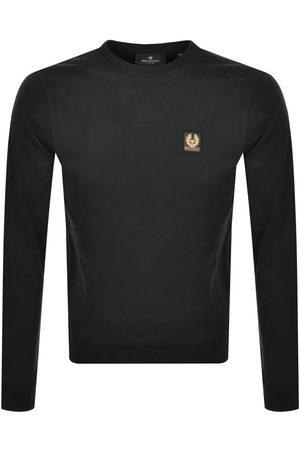 Belstaff Men Sweatshirts - Crew Neck Sweatshirt