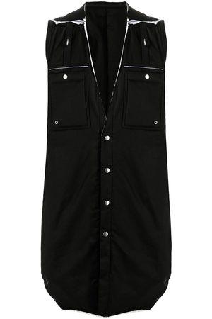 Rick Owens Men Gilets - Deconstructed padded vest