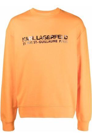 Karl Lagerfeld Kamo logo-print sweatshirt