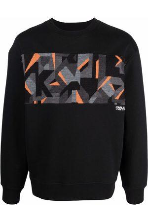 Karl Lagerfeld Kamo intarsia-knit sweatshirt
