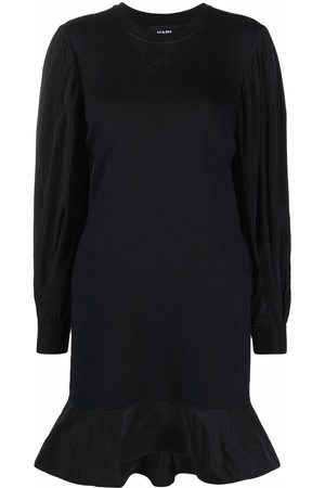 Karl Lagerfeld Long puff-sleeves sweatdress