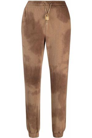 Pinko Women Joggers - Tie-dye track trousers