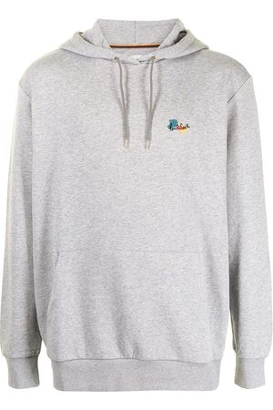 PAUL SMITH Men Hoodies - Abstract-print cotton-blend hoodie