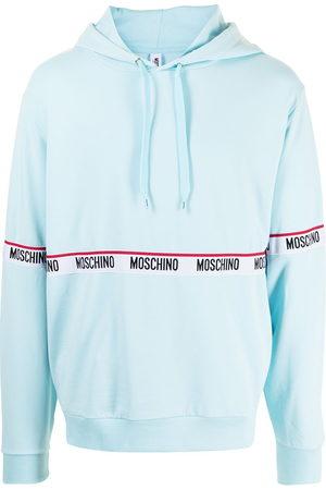 Moschino Logo-print pullover hoodie