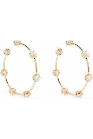 Swarovski Women Earrings - Constella crystal hoop earrings