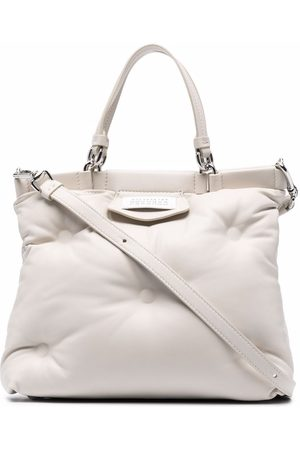 Maison Margiela Women Tote Bags - Quilted-effect tote bag