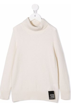 Paolo Pecora Kids Roll-neck merino-wool jumper