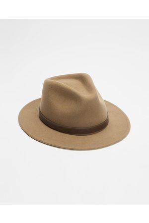 Brixton Hats - ICONIC EXCLUSIVE Adjustable Messer Fedora - Hats (Tobacco) ICONIC EXCLUSIVE - Adjustable Messer Fedora