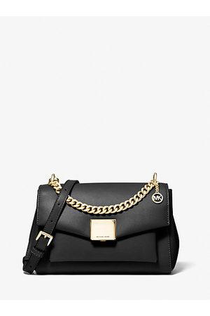 MICHAEL Michael Kors Shoulder Bags - MK Lita Medium Leather Crossbody Bag - - Michael Kors