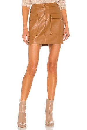 Steve Madden Leather Too Late Skirt in .