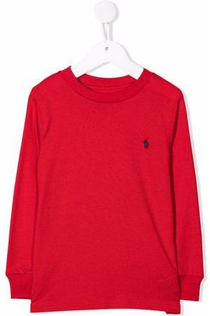 Ralph Lauren Kids Polo Pony-embroidered sweatshirt
