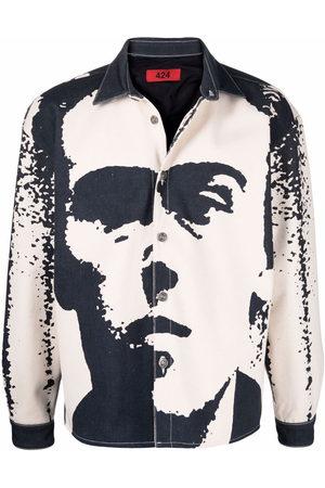 424 Men Casual - Graphic-print jacket