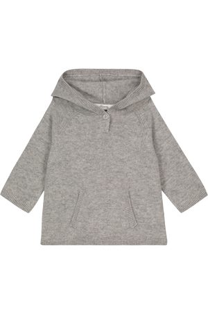 Bonpoint Baby cashmere hooded sweater